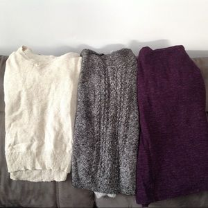 🔥BLOWOUT!!!🔥Trio of Sweaters
